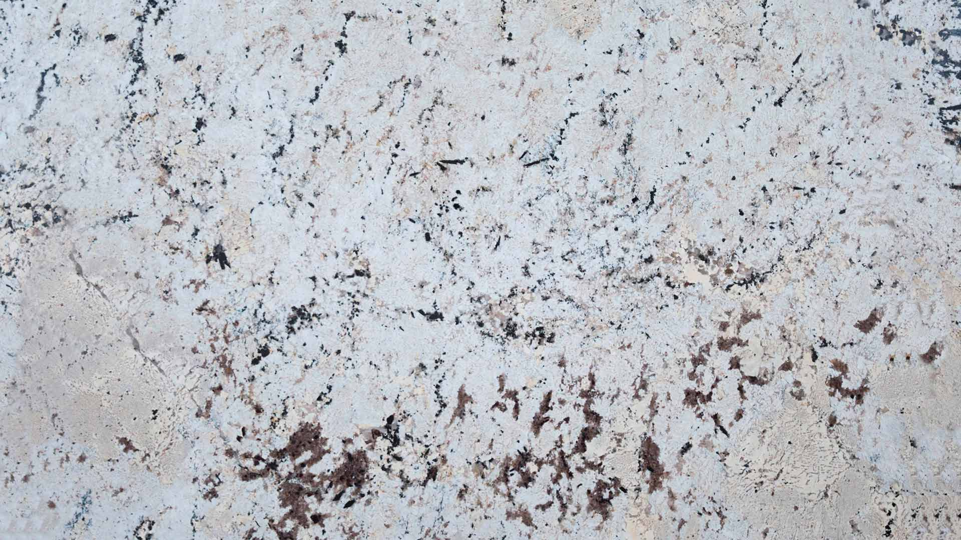 granite white light close