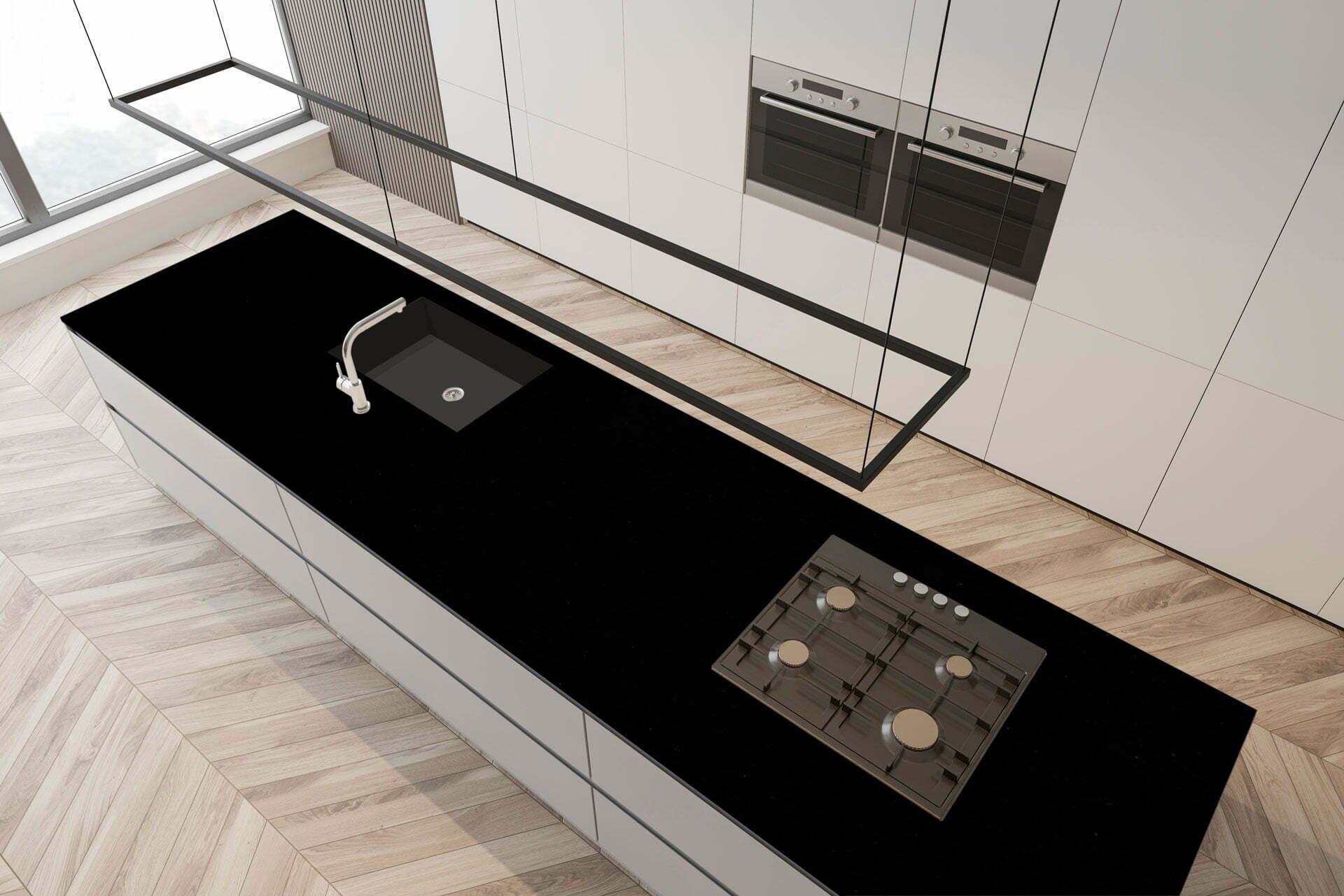 granito preto brasil countertop
