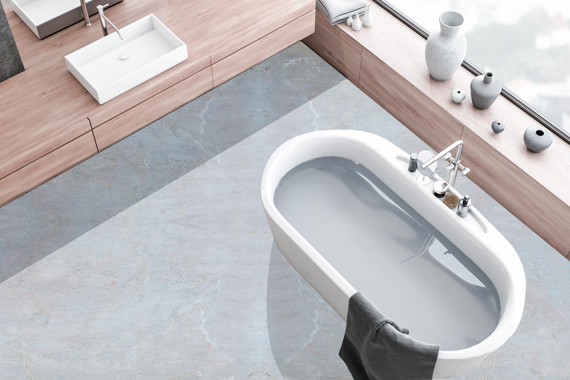 marble calacatta grigio bathromm