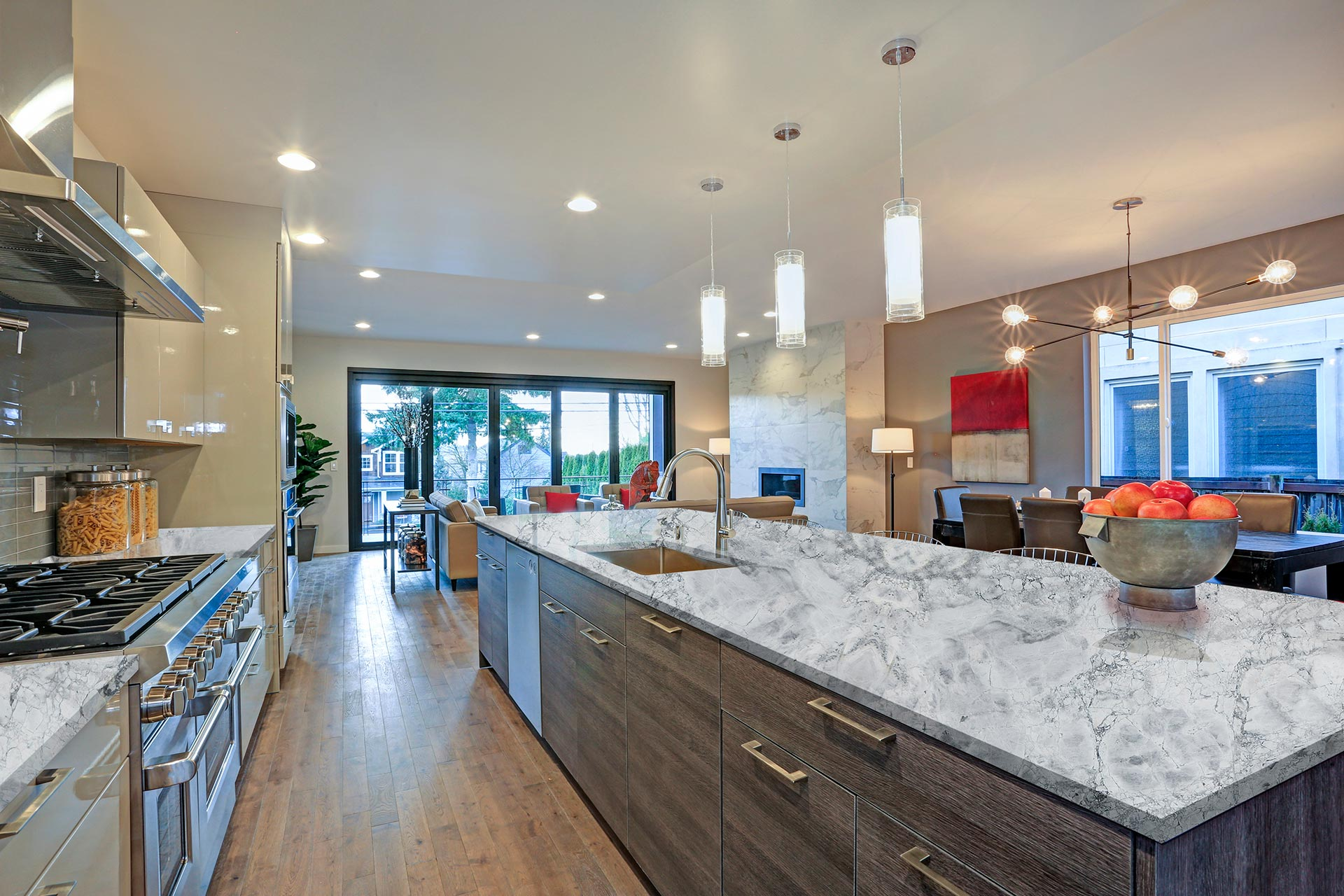 marble calacatta white countertop