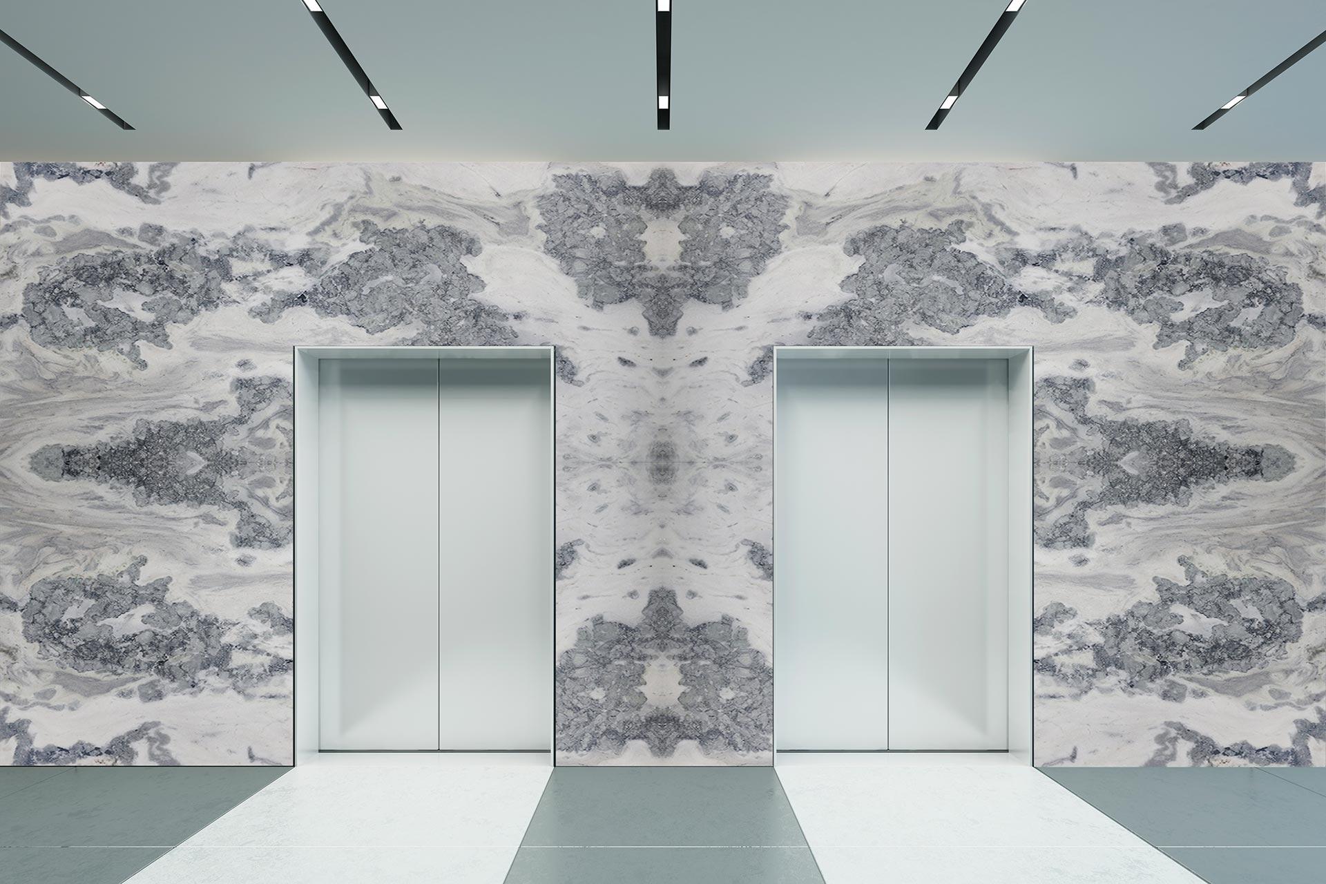 marble gloria venato elevator