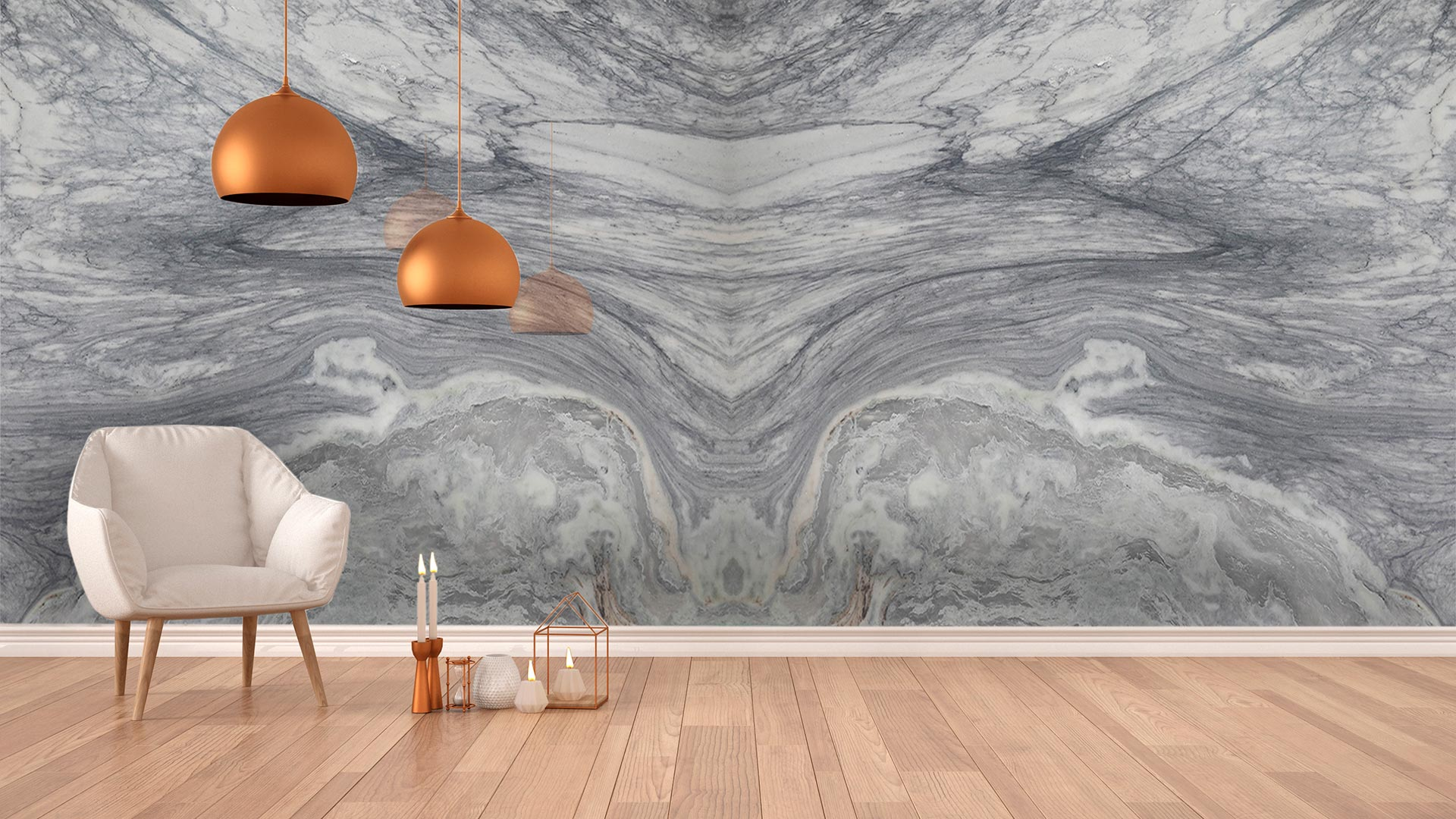 marble gloria venato wall