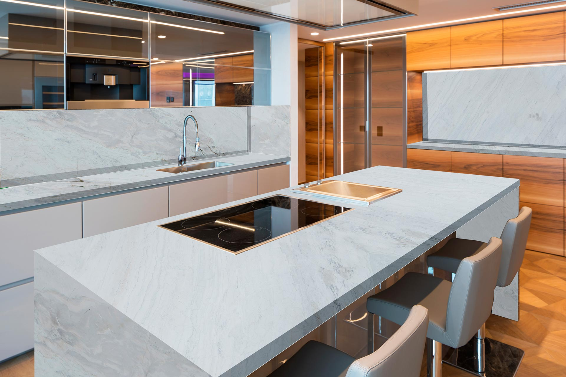 marble milano kitchen