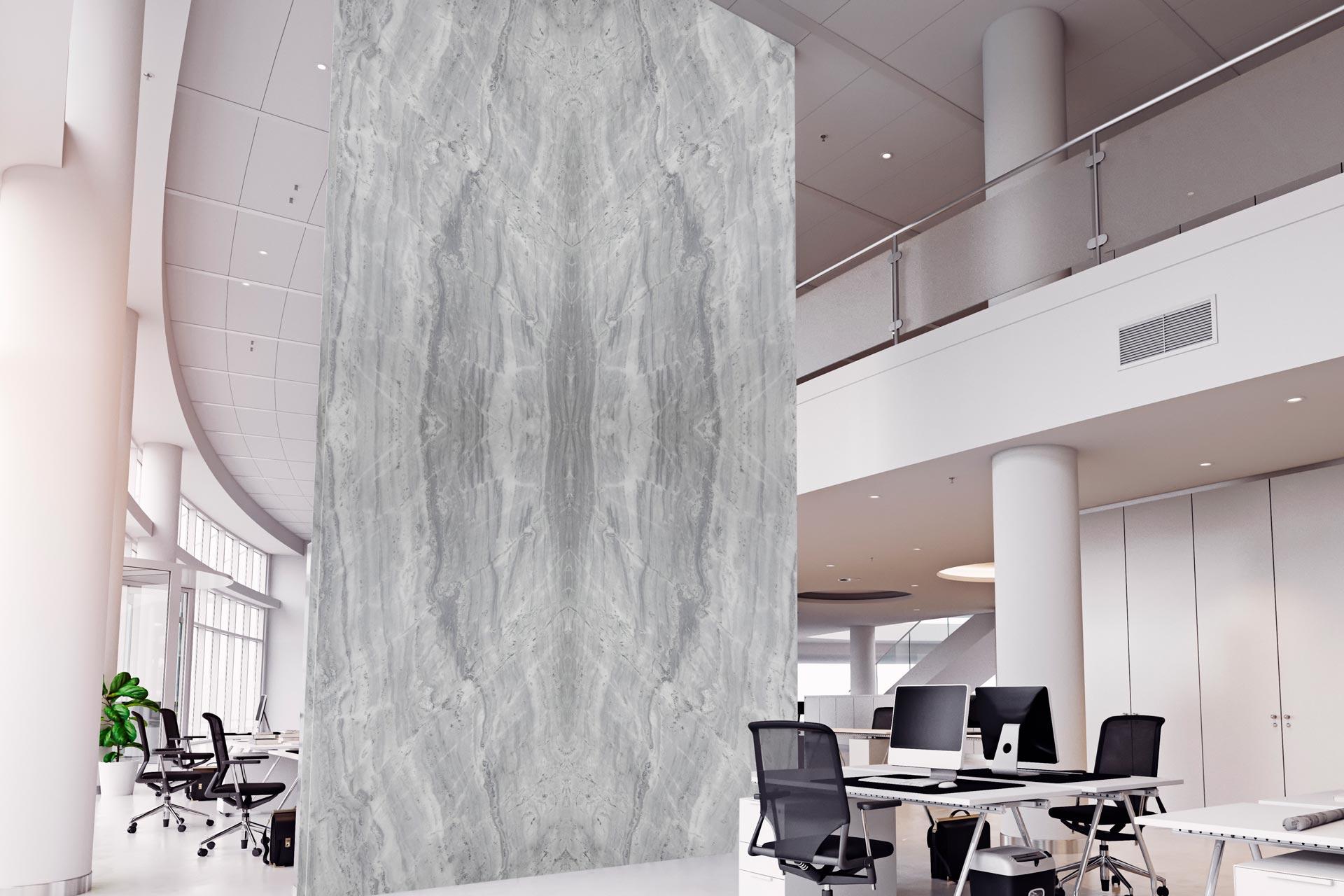 marble tesoro grigio wall