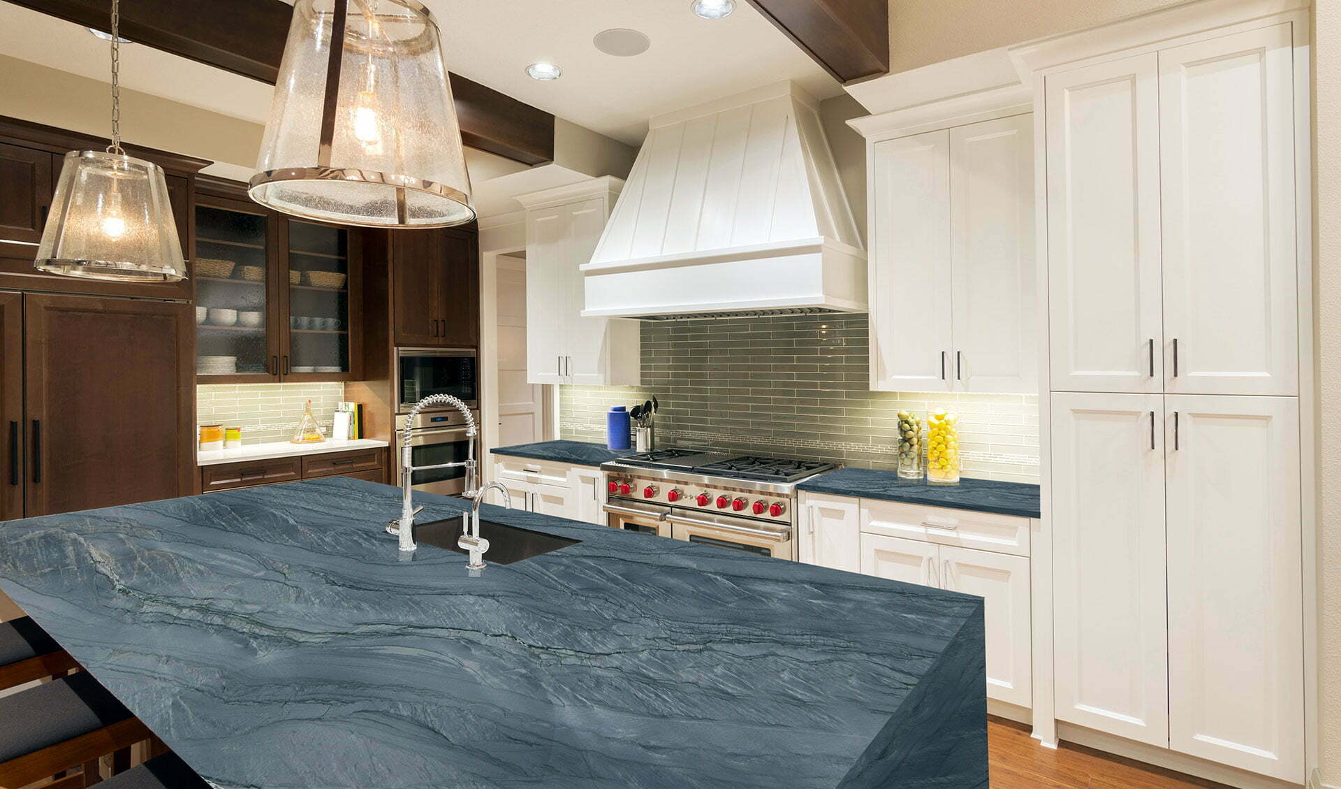 quartzite allure kitchen