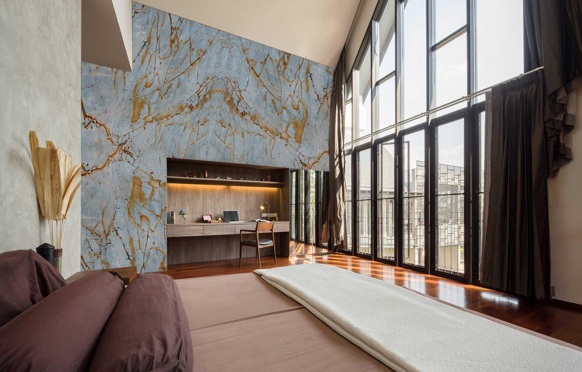 quartzite-blue-roma-living-room
