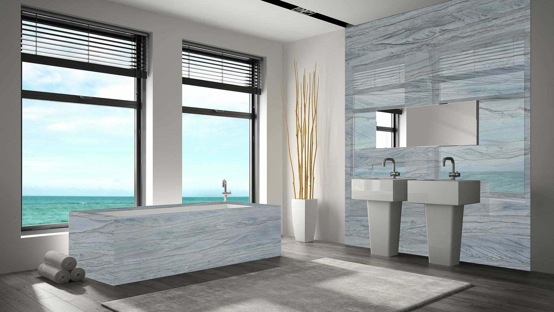 quartzite-brilliant-grey-bathroom