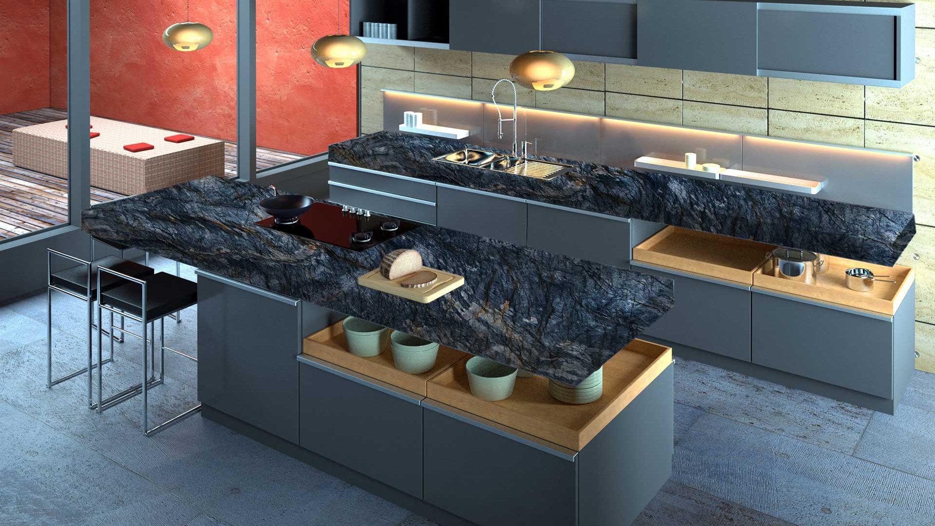 quartzite-fusion-dark-kitchen