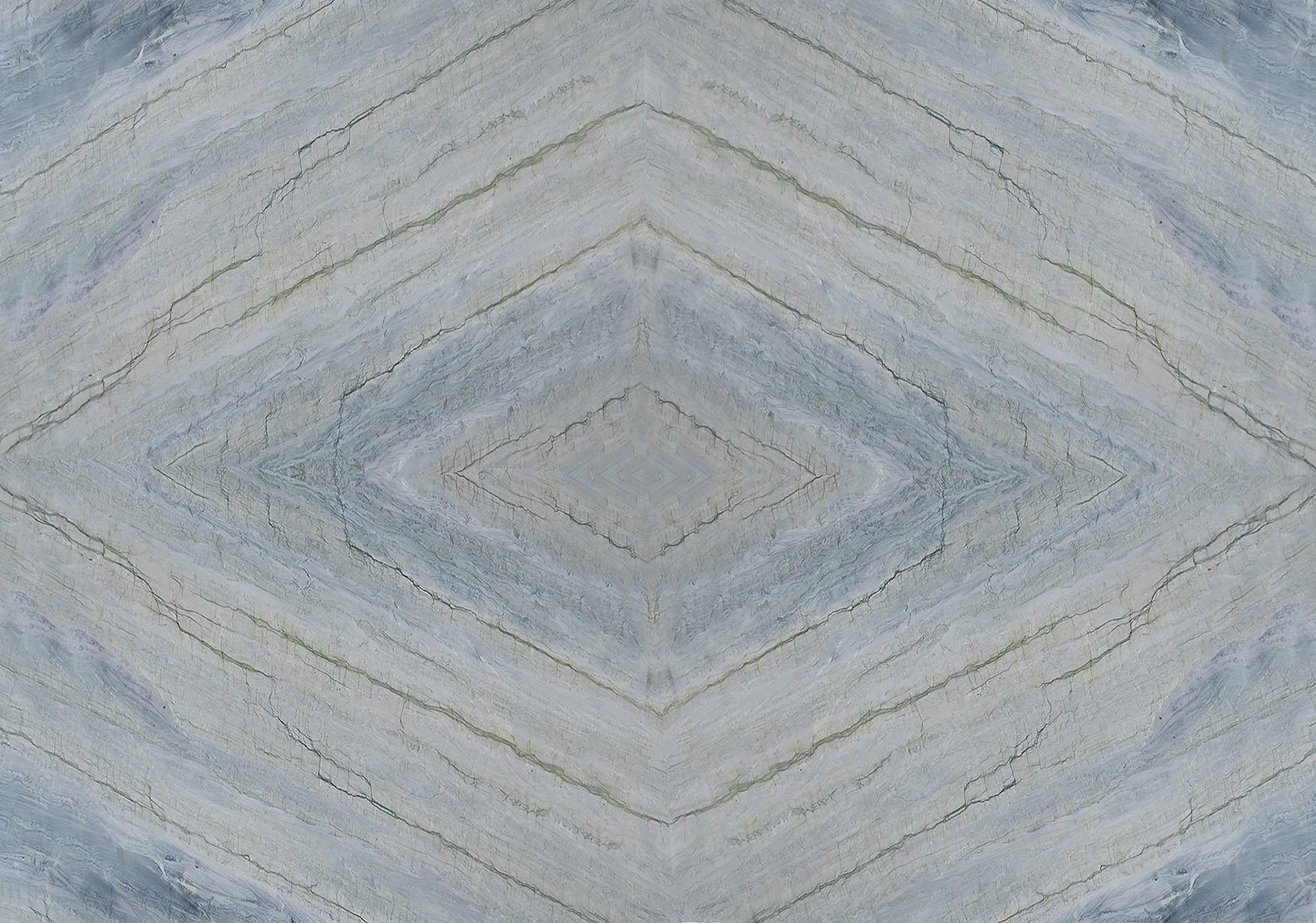 quartzite infinity gray bookmatch