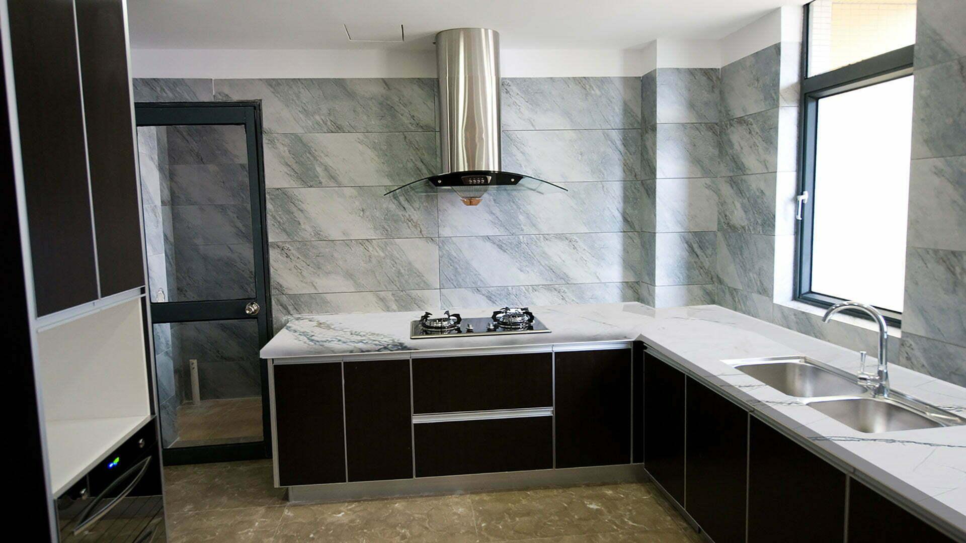 quartzite macaubas fantasy kitchen