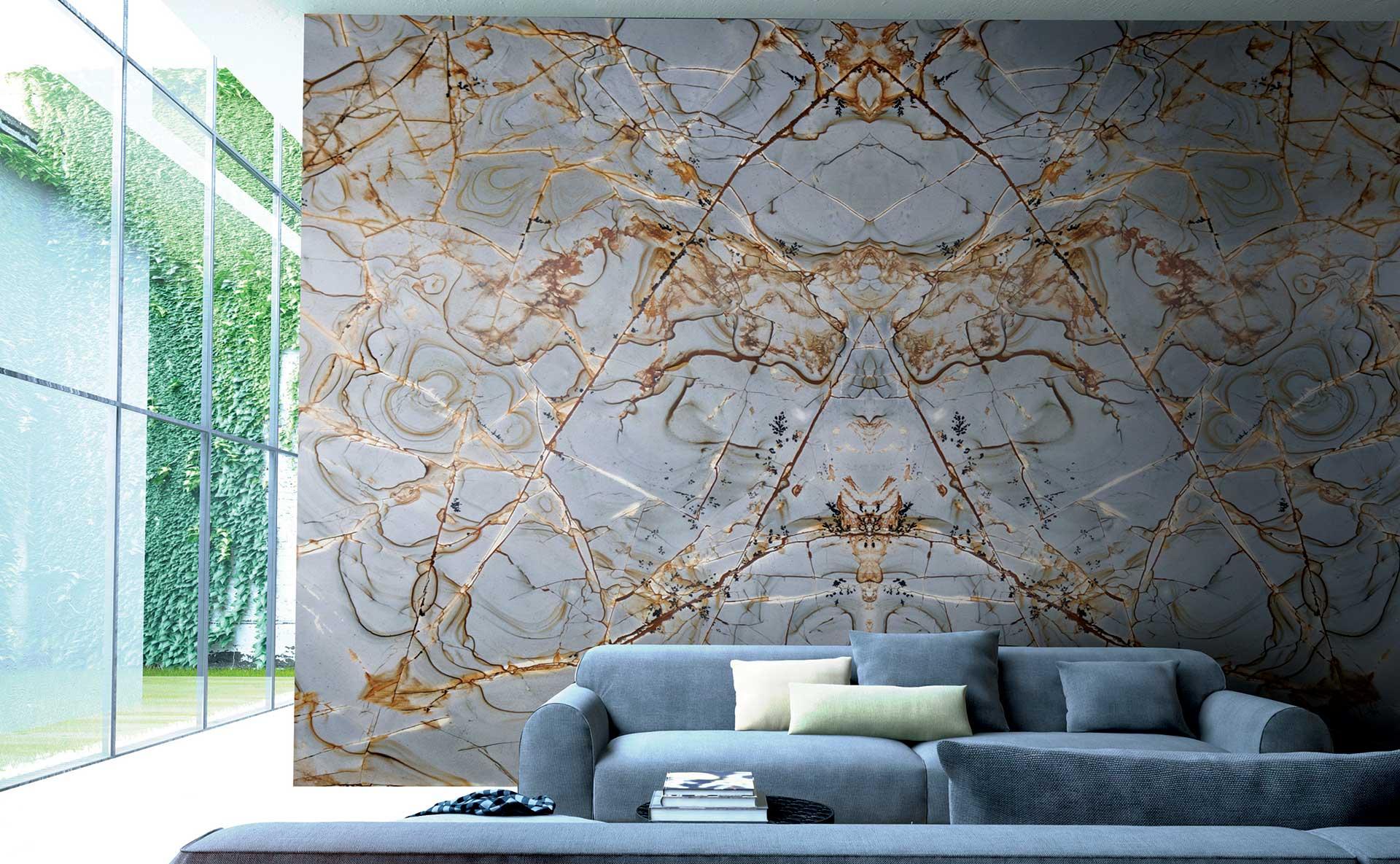 quartzite roma imperiale livingroom