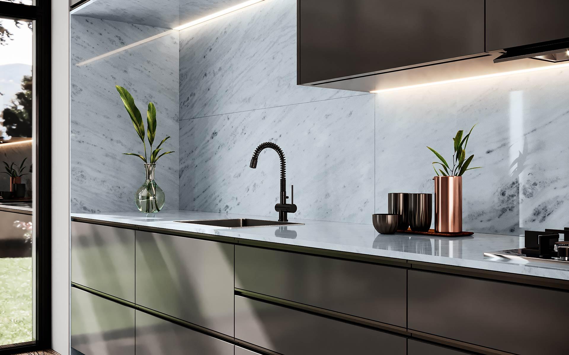 marble tesoro bianco cozinha 2
