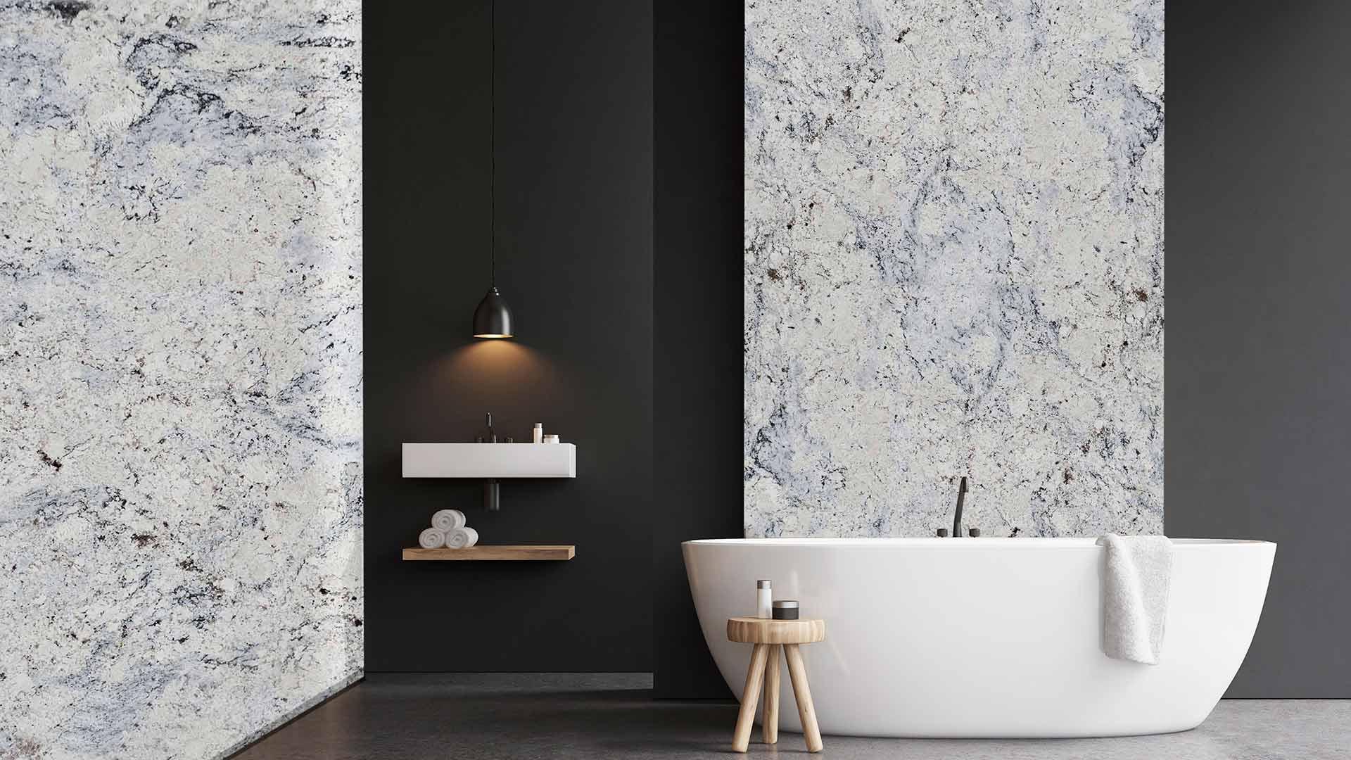 Banheiro Black Aspen White 1
