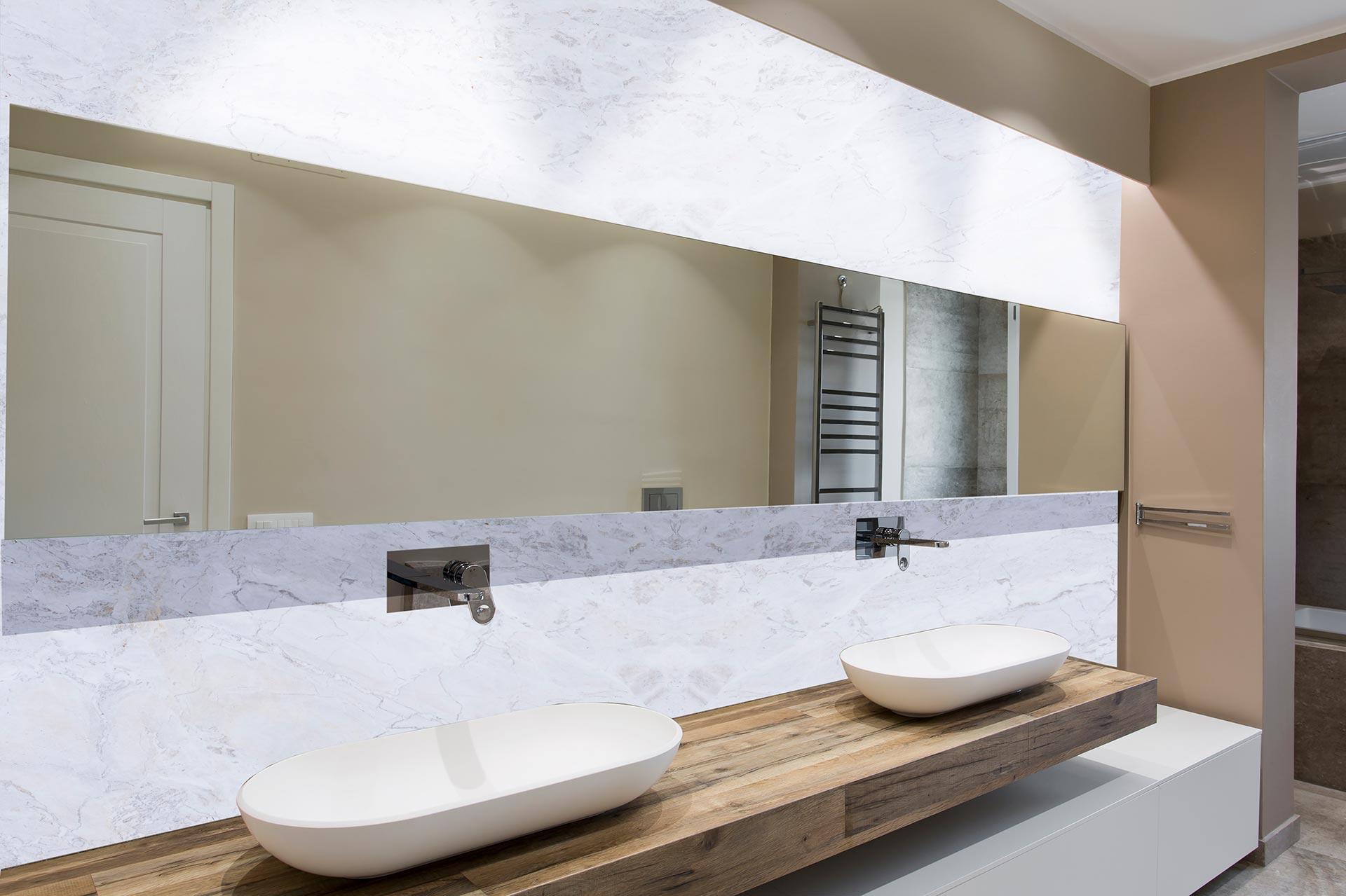 banheiro calacatta Columbus